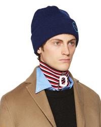 blaue Mütze von Raf Simons