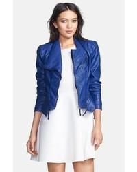 blaue Oberbekleidung