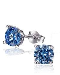 blaue Ohrringe von goldmaid