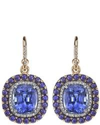 blaue Ohrringe von Irene Neuwirth