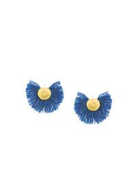 blaue Ohrringe von Katerina Makriyianni