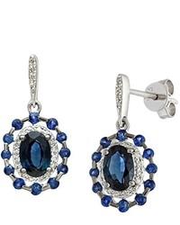 blaue Ohrringe von Naava