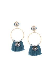 blaue Ohrringe von Rada'
