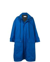 blaue Regenjacke von Balenciaga