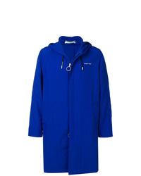 blaue Regenjacke von Off-White