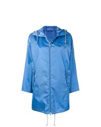 blaue Regenjacke von Prada