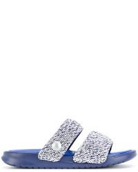 blaue Sandalen von Nike