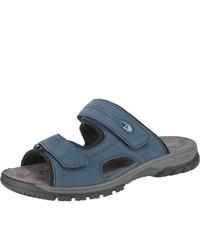 blaue Sandalen von Waldläufer