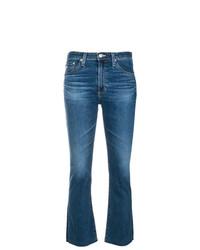 blaue Schlagjeans von AG Jeans