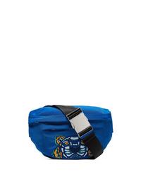 blaue Segeltuch Bauchtasche von Kenzo