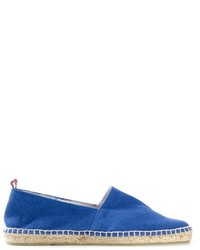 blaue Segeltuch Espadrilles