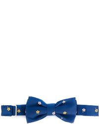 blaue Seidefliege mit Blumenmuster von fe-fe