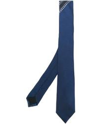 blaue Seidekrawatte von Givenchy
