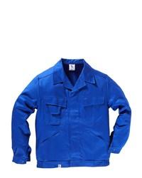 blaue Shirtjacke von Kübler
