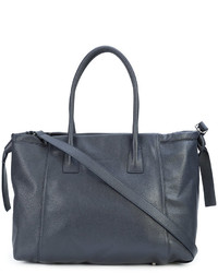 blaue Shopper Tasche aus Leder von Fabiana Filippi