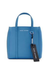 blaue Shopper Tasche aus Leder von Marc Jacobs