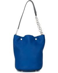 blaue Shopper Tasche aus Leder von Marni
