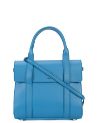 blaue Shopper Tasche aus Leder von Shinola
