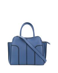 blaue Shopper Tasche aus Leder von Tod's