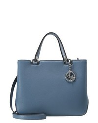blaue Shopper Tasche von Michael Kors