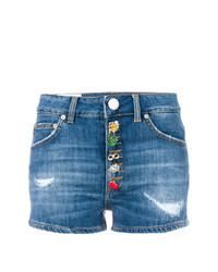 blaue Shorts von Dondup