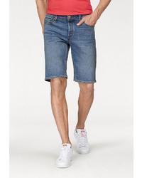 blaue Shorts von Jack & Jones