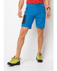 blaue Shorts von Jack Wolfskin