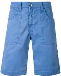 blaue Shorts von Jacob Cohen