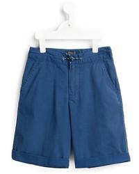blaue Shorts von Ralph Lauren
