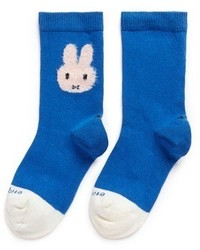 blaue Socke