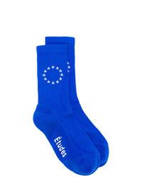 blaue Socken von Études