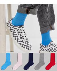 blaue Socken von ASOS DESIGN