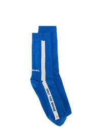blaue Socken von Diesel