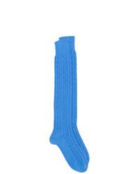 blaue Socken von Fashion Clinic Timeless