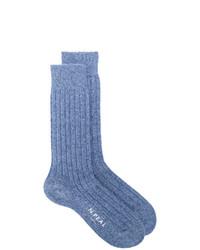 blaue Socken von N.Peal