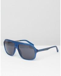 blaue Sonnenbrille von Calvin Klein