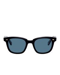 blaue Sonnenbrille von Garrett Leight