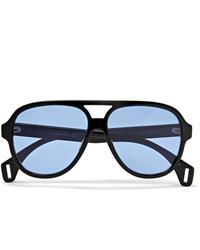 blaue Sonnenbrille von Gucci
