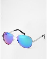 blaue Sonnenbrille von Jeepers Peepers