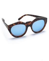 blaue Sonnenbrille von Le Specs