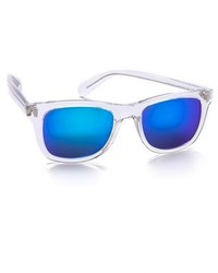 blaue Sonnenbrille von Marc by Marc Jacobs