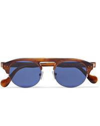 blaue Sonnenbrille von Moncler