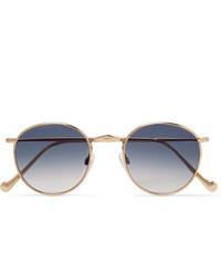 blaue Sonnenbrille von Moscot