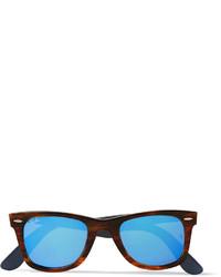 blaue Sonnenbrille von Ray-Ban