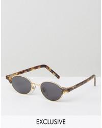 blaue Sonnenbrille von Reclaimed Vintage