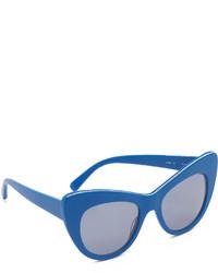 blaue Sonnenbrille von Stella McCartney