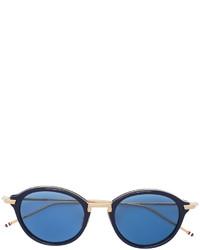 blaue Sonnenbrille von Thom Browne