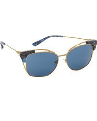 blaue Sonnenbrille von Tory Burch
