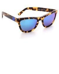 blaue Sonnenbrille von Westward Leaning