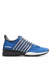 blaue Sportschuhe von DSQUARED2